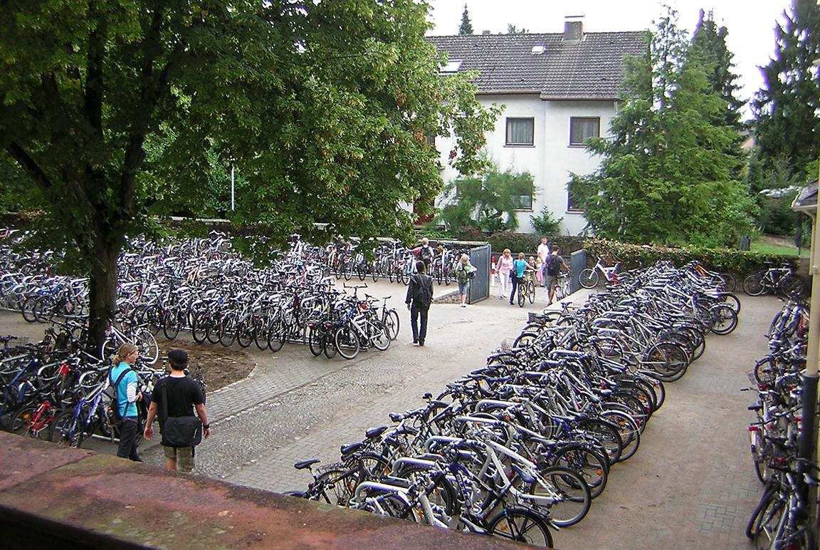 Orion Beta XXl sistema di parcheggio per biciclette