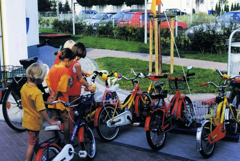 Porta biciclette per bambini Orion