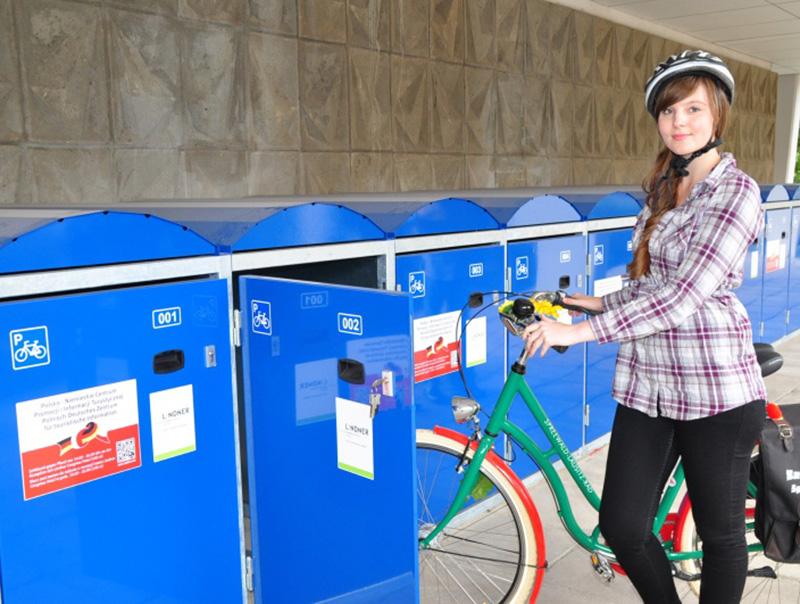 Aretus box per biciclette
