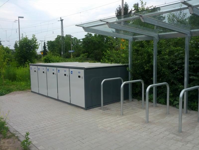 Box per biciclette Aretus