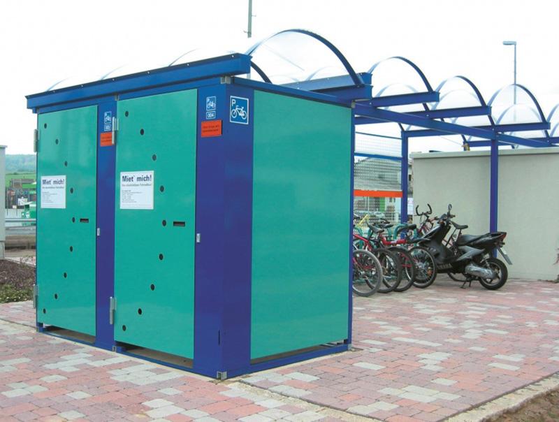 Orion Box antifurto per biciclette