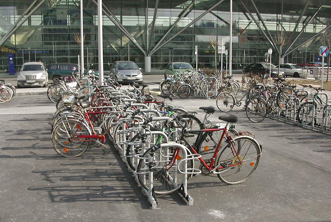 Parcheggi modulari per bicilette