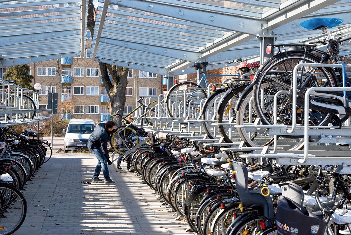 Copertura porta biciclette Orion