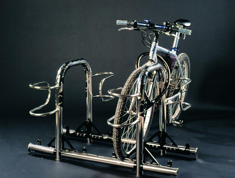Omega Inox parcheggio per bici