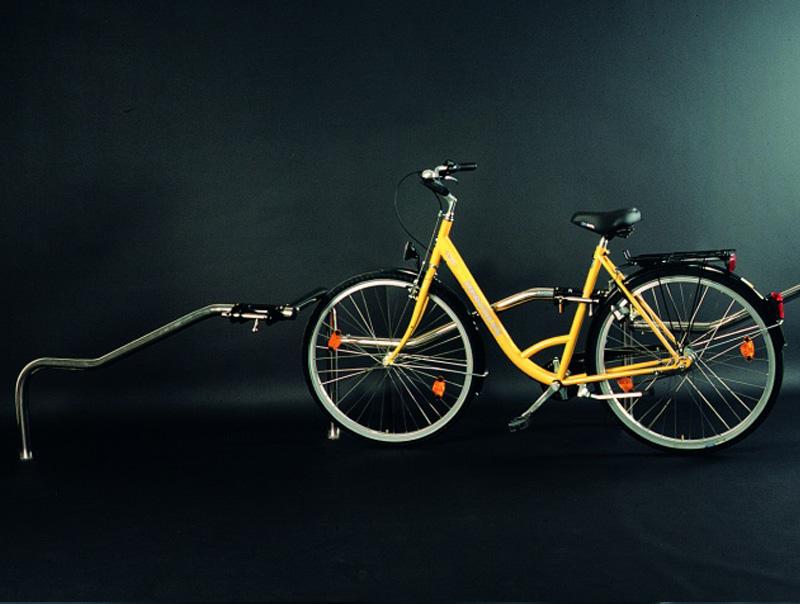 Parcheggio per bici Omega Inox